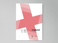 England | World Cup 2018 Poster Series