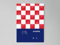 Croatia | World Cup 2018 Poster Series