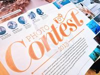 Photo Contest Printed