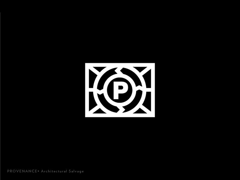 Prov Logo 6 type salvage rebrand monogram mark logotype logo lines identity icon exploration brand