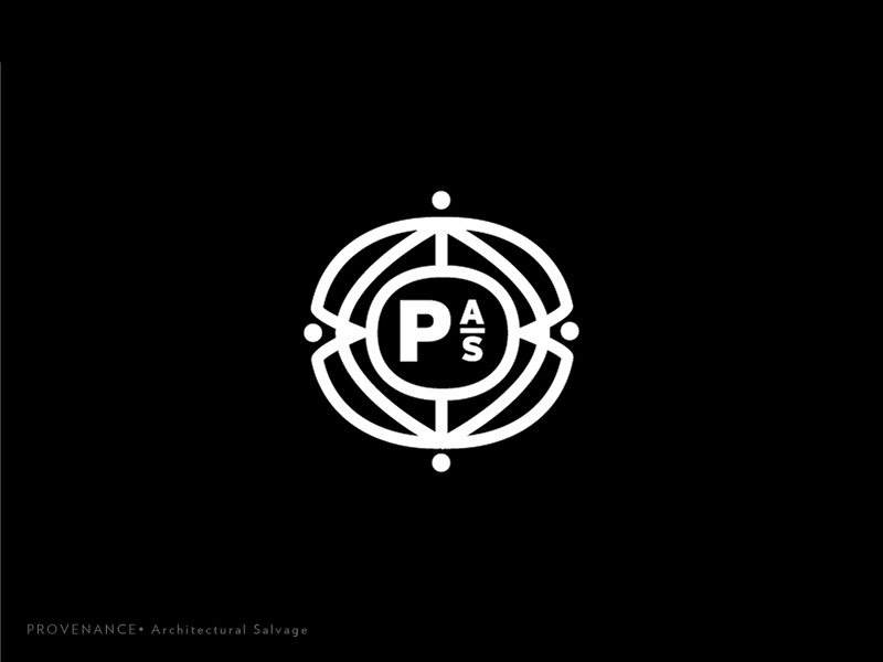 Prov Logo 8 type salvage rebrand monogram mark logotype logo lines identity icon exploration brand