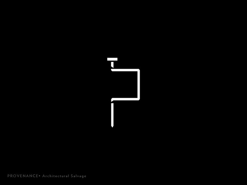 Prov Logo 11 type salvage rebrand monogram mark logotype logo lines identity icon exploration brand
