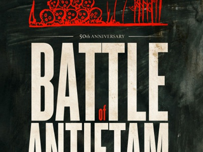 Battle Of Antietam Poster poster typography