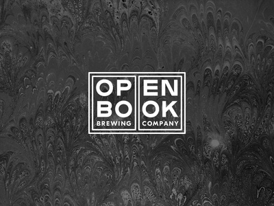 Openbook Brewing Concept company brewing open book brewery identity logo beer