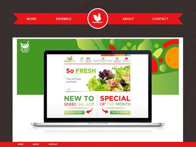 Creative Rooster Website