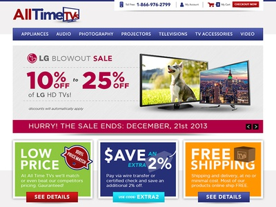 Alltimetvs Website