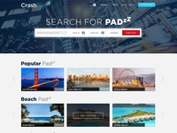 Crashpadzz Website