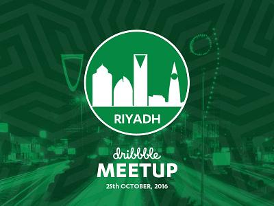 Dribbble Meetup in Riyadh, Saudi Arabia Oct 25th saudi ksa riyadh event design ui ux meetup uxbert dribbble