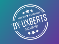 Made with Love in KSA by UXBERTS