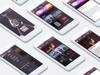Wasla Music Festival App Design