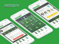 Football Team Formation UI
