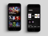App for exploring and joining eSports events