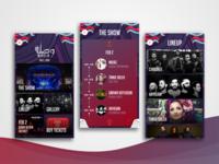 Music Festival App