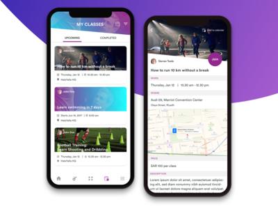Personal Trainer App halayalla usability event fitness iphone ksa user experience app uxbert design ui ux