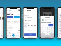 💸 Pay (App Concept) Screens