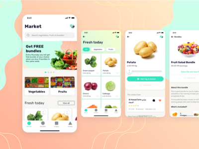 Fruits and Vegetables delivery app