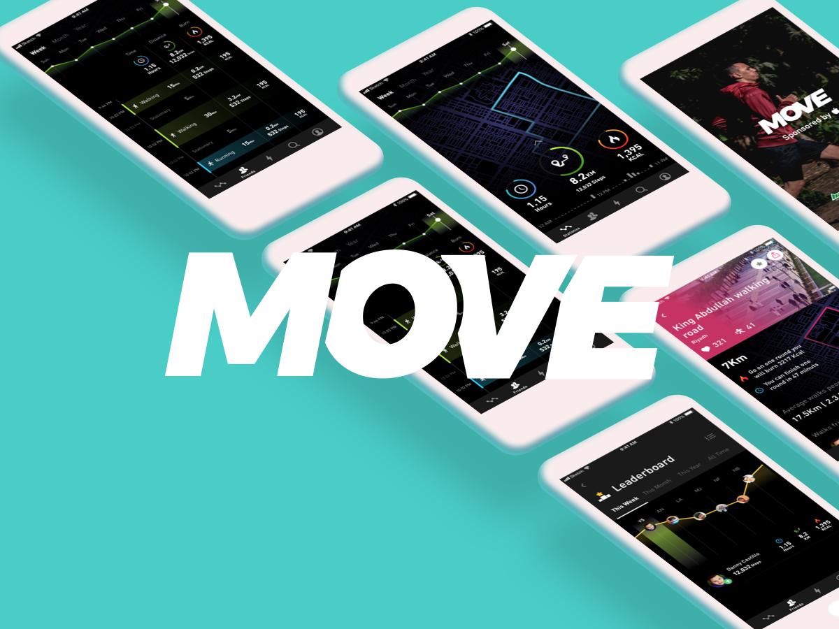 Move App health run move sport ios app