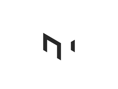 M + Table monogram minimalist furniture negative clean chair table m letter sygnet logo