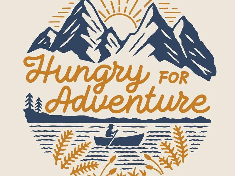HUNGRY FOR ADVENTURE nature mountains wandering outdoor traveling