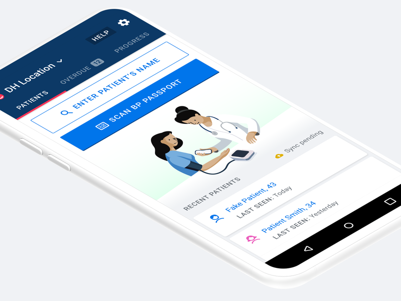 Simple Android App clinical medical emr ehr mobile android app
