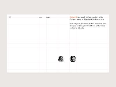 Gutgut — Behance Project golden ratio grid layout grid behance project portfolio flat design behance
