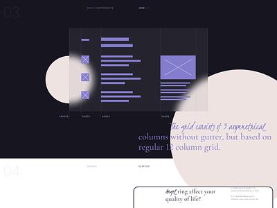 Diamond Angel. Behance case — 1 uidesign logo ux website web minimal ui flat design