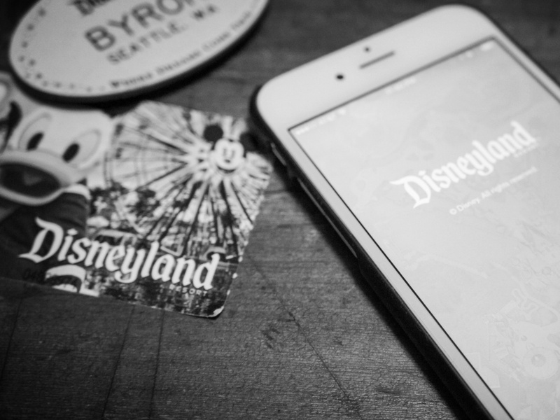 disneyland hospitality travel brand mobile app