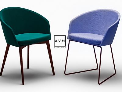 Chair 3D Concept 3ds max 3d modeling adobe photoshop concept art te graphic design 3d