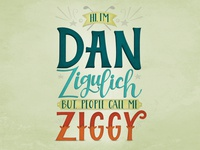Ziggy Lettering