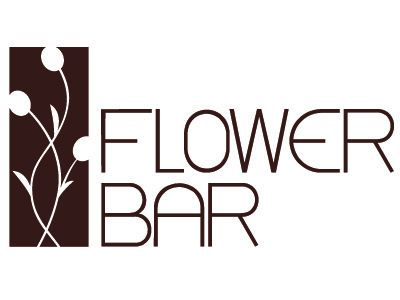 Flowerbar Logo logo flower modern simplicity