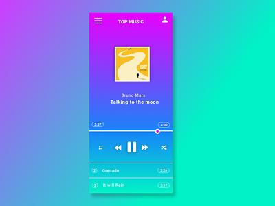 Daily UI: Day 8 of 100 controls music music player ui figma design dailyui