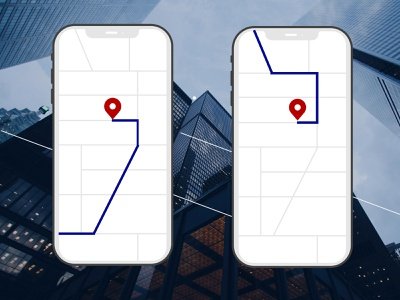 Daily UI: Day 24 of 100 tracker location ui ux figma design dailyui