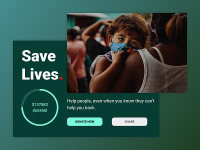 Daily UI: Day 32 of 100 social help funding crowdfunding ui ux figma design dailyui