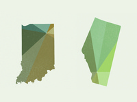 Indiana & Alberta