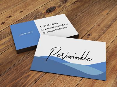 Periwinkle Brand Design illustrator typography graphic design vector minimal flat logo illustration design branding