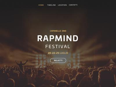 Rap Festival Header