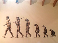 Ascent of Man Mural