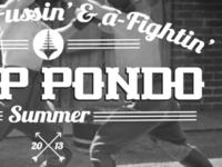 Camp Pondo - Summer Branding