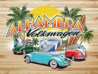 Alhambra Volkswagen Logo