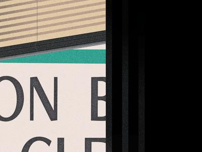 A Familiar Window grainy vector illustration illustration