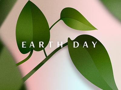 BSDS Thunderdome: Earth Day grain texture grainy vector illustration plant illustration earthday earth plants planet