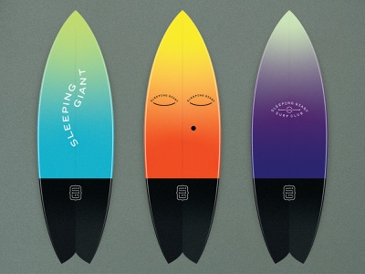 BSDS Thunderdome: Summertime Surfing wavy sleeping giant vector illustration grainy surfboard surfing surf illustration
