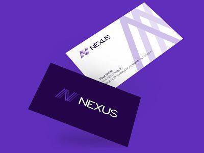 Investment Management Logo Concept purple logo purple brand concept branding logo marketing agency web