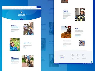 Social Responsibility glasgow leeds ui web design websites faq opticians user interface post ux web lists