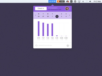 Checking out Timer app