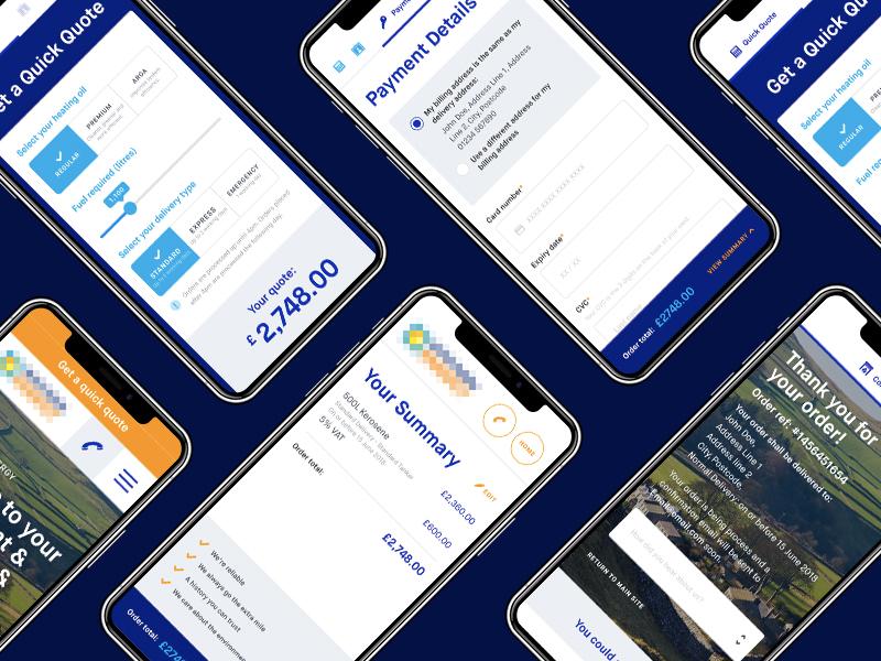 Ecommerce flow responsive mobile ecommerce agency app ux ui