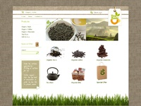 Portfolio tea zone shop