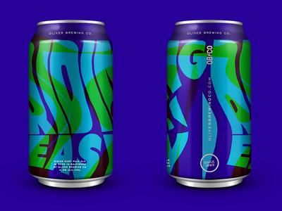 Beer Can Concept typography photocopier trips trippy art of beer can beer