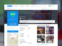 3D Printing Service Profile Page