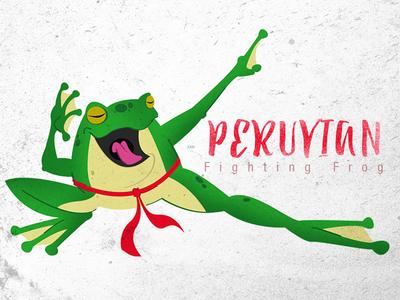 Peruvian Fighting Frog